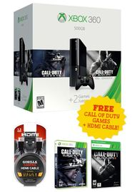 Xbox 360 500GB E Call of Duty Console Bundle for Xbox 360