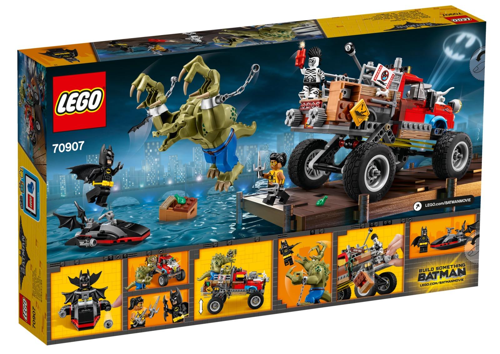LEGO Batman Movie: Killer Croc Tail-Gator (70907) | Toy ...