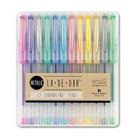 La De Dah: Metallic Journalling Pens - 12 Pack