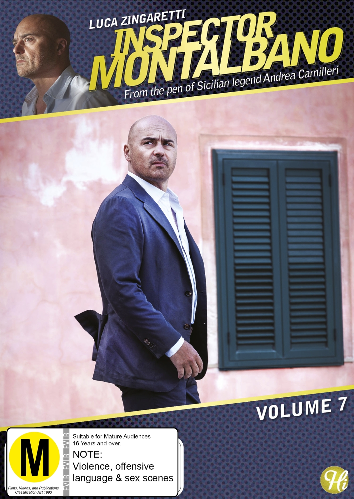 Inspector Montalbano - Volume 7 on DVD image