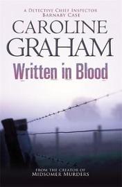 Written in Blood by Caroline Graham image
