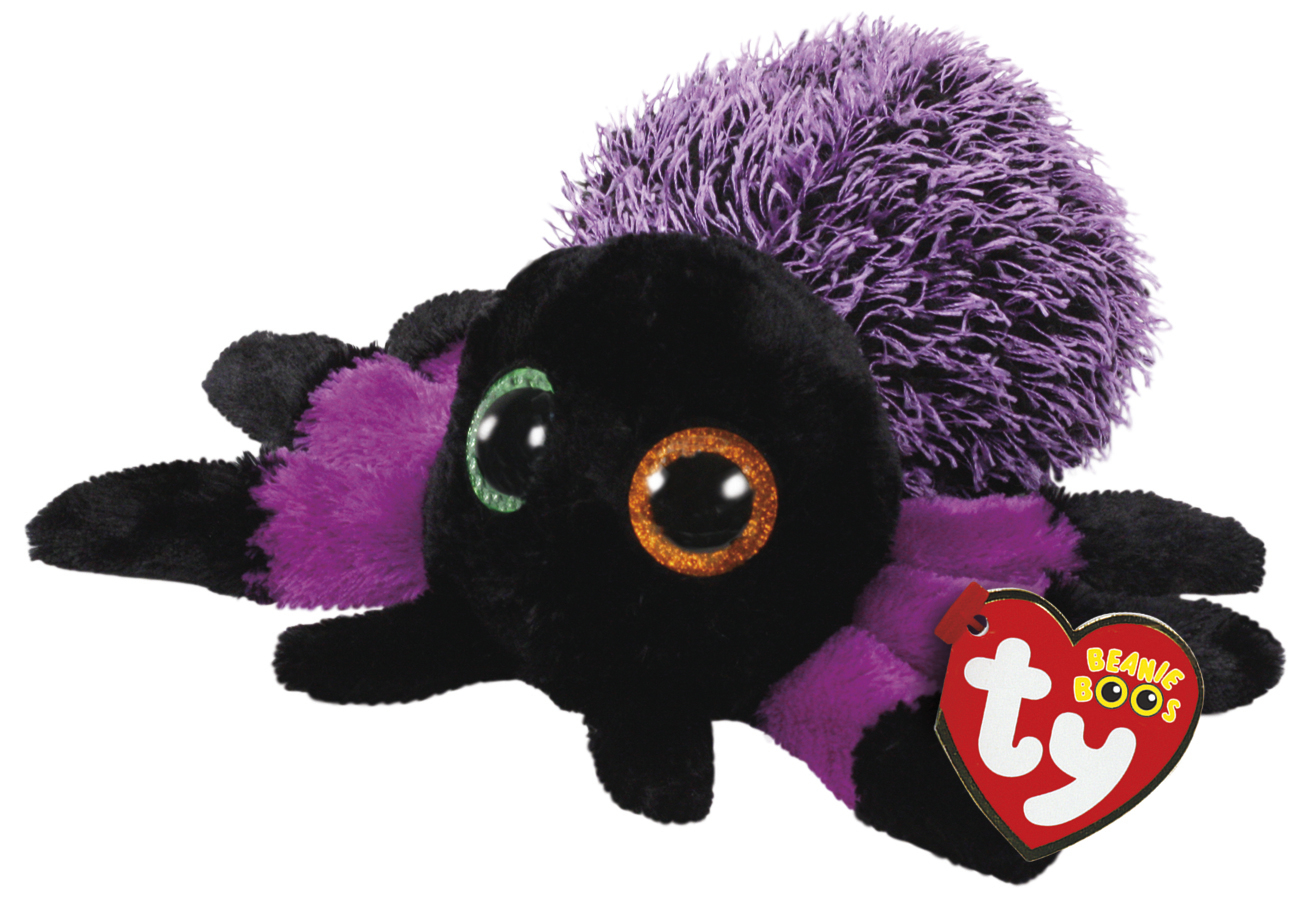 Ty Beanie Boo S Purple Spider Toy At Mighty Ape