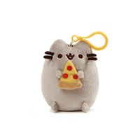 Pusheen Backpack Clip Pizza