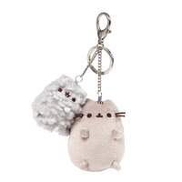 Pusheen And Stormy Deluxe Keychain Clip
