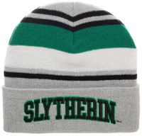 Harry Potter: Slytherin - Stripe Cuff Beanie