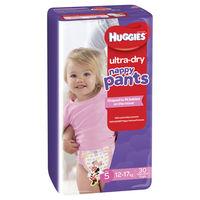 Huggies: Ultra Dry Nappy Pants Bulk Value Box - Size 5 Walker Girl (120)