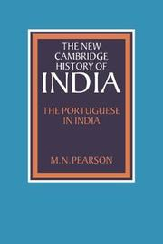 The Portuguese in India by M.N. Pearson