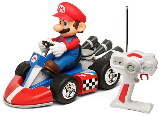 Mario Kart (BIG!) Radio Controlled Kart - Mario 42cm image