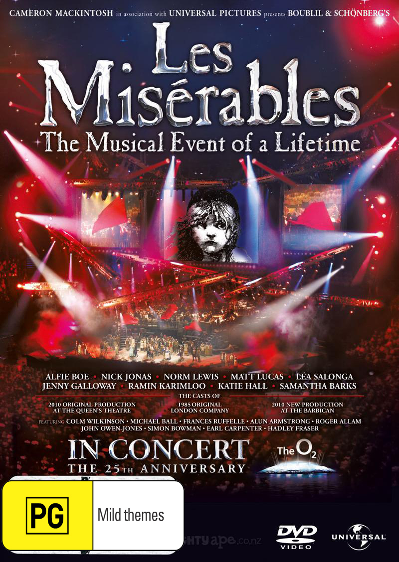 Les Miserables - 25th Anniversary Concert DVD image