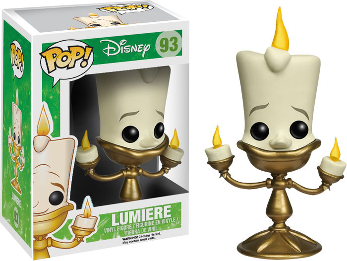 Beauty and the Beast – Lumiere Pop! Vinyl Figure image
