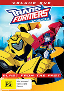 Transformers Animated - Volume 1: Blast From The Past on DVD image