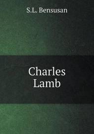 Charles Lamb by S.L. Bensusan