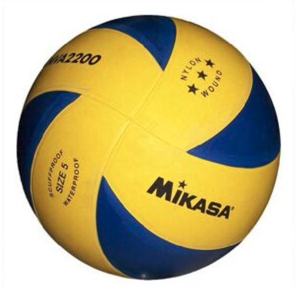 Mikasa MVR2200 Rubber Volleyball