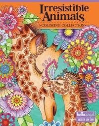 Hello Angel Irresistible Animals Coloring Collection by Angelea Van Dam