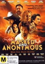 Masked And Anonymous on DVD image