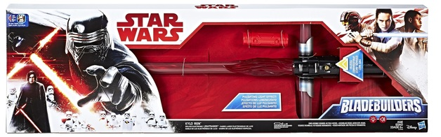 Star Wars: Deluxe Electronic Lightsaber - Kylo Ren