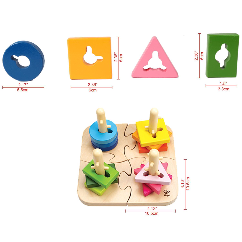 Hape: Creative Peg Puzzle image