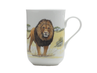 Maxwell & Williams Cashmere Animals of the World Mug 300ML Lion Gift Boxed