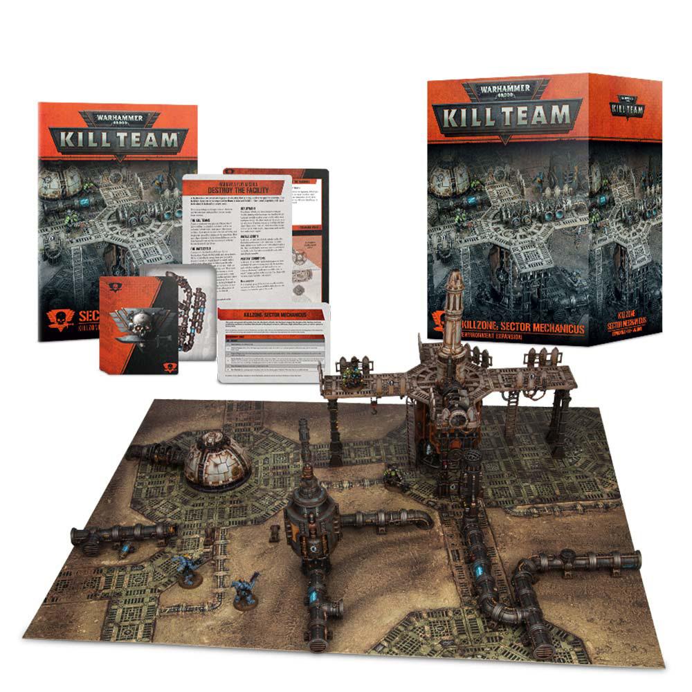 Warhammer 40,000: Kill Team - Kill Zone Sector Mechanicus image