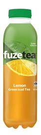 Fuze Green Tea Lemon Iced Tea 500ml 12pk