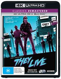 They Live on Blu-ray, UHD Blu-ray