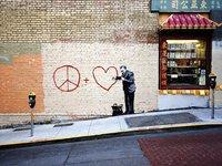 Urban Art Graffiti: 1,000 Piece Puzzle - Peaceful Hearts Doctor