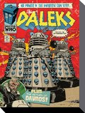 Doctor Who Comic Canvas - The Daleks