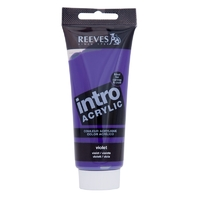 100ml Reeves Intro Acrylic - Violet