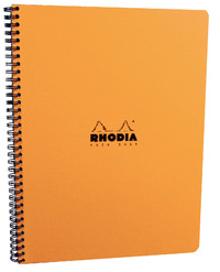 Rhodia Classic A4+ Notebook Microperf L&M - Orange