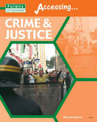 Citizenship: Crime and Justice: Student Book by Bhavini Algarra image
