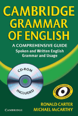 Cambridge Grammar of English Hardback with CD ROM: A Comprehensive Guide by Michael McCarthy image