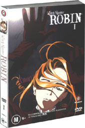 Witch Hunter Robin - Vol 1 on DVD