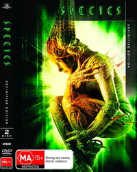 Species - Definitive Edition (2 Disc Set) on DVD image