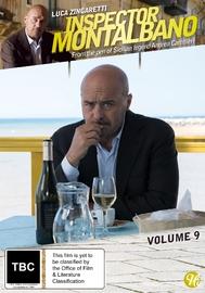 Inspector Montalbano - Volume 9 on DVD