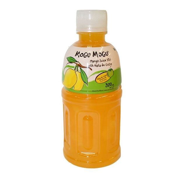 Mogu Mogu Mango Flavored Drink 320ml