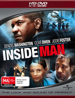 Inside Man on HD DVD