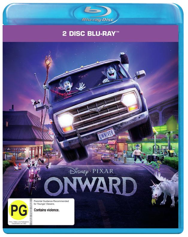 Onward on Blu-ray
