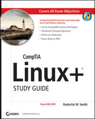 CompTIA Linux+ Study Guide: 2009 Exam by Roderick W Smith image
