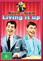 Jerry Lewis & Dean Martin : Living It Up  on DVD