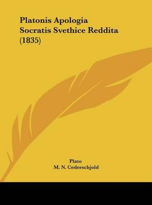 Platonis Apologia Socratis Svethice Reddita (1835) by Plato image