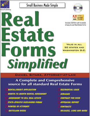 Real Estate Forms Simplified by Daniel Sitarz