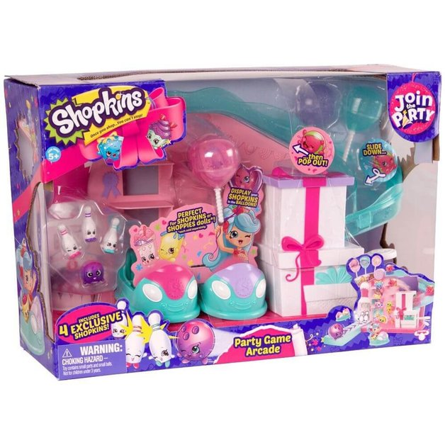 Shopkins: Happy Places S7 - Party Game Arcade