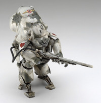 Maschinen Krieger: 1/20 Robot Battle V Mk44H-0 White Knight Prototype - Model Kit image