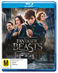 Fantastic Beasts and Where to Find Them on Blu-ray