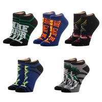 My Hero Academia - Juniors Ankle Socks Set (5-Pack)