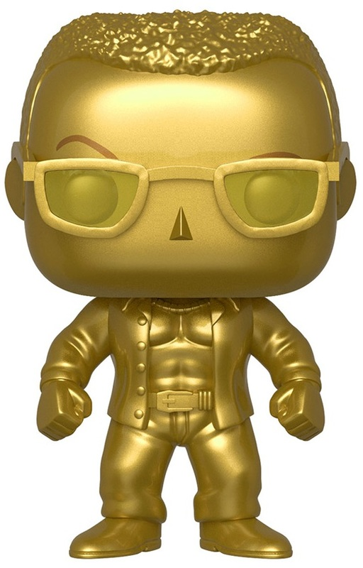 WWE: The Rock (Gold Metallic) - Pop! Vinyl Figure