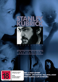 The Stanley Kubrick Collection (5 Disc Set) on DVD image