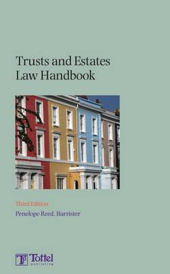 Trusts and Estates Law Handbook by Penelope Reed image