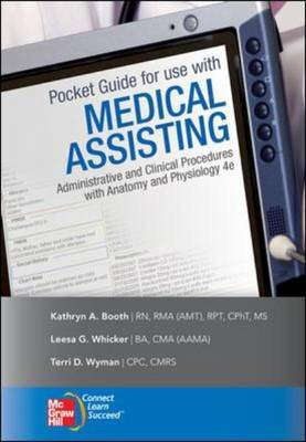 Pocket Guide to Accompany Medical Assisting by Kathryn A Booth image