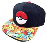 Pokemon: Pokeball Youth's Snapback Cap